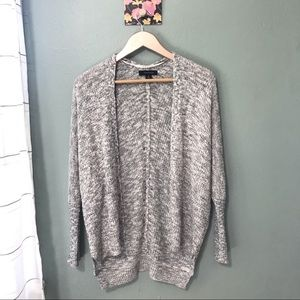 Atmosphere Gray And White Cardigan Size Small